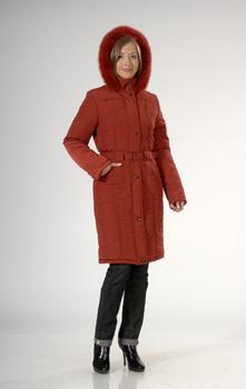 Зимняя верхняя одежда - Полупальто женское, модель Рада.